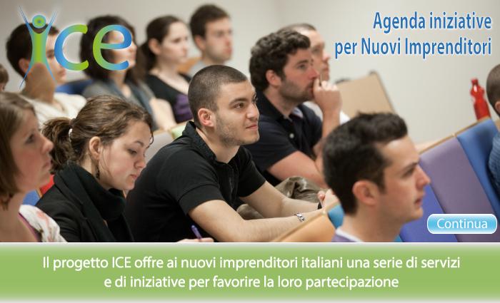 Agenda iniziative per Nuovi Imprenditori